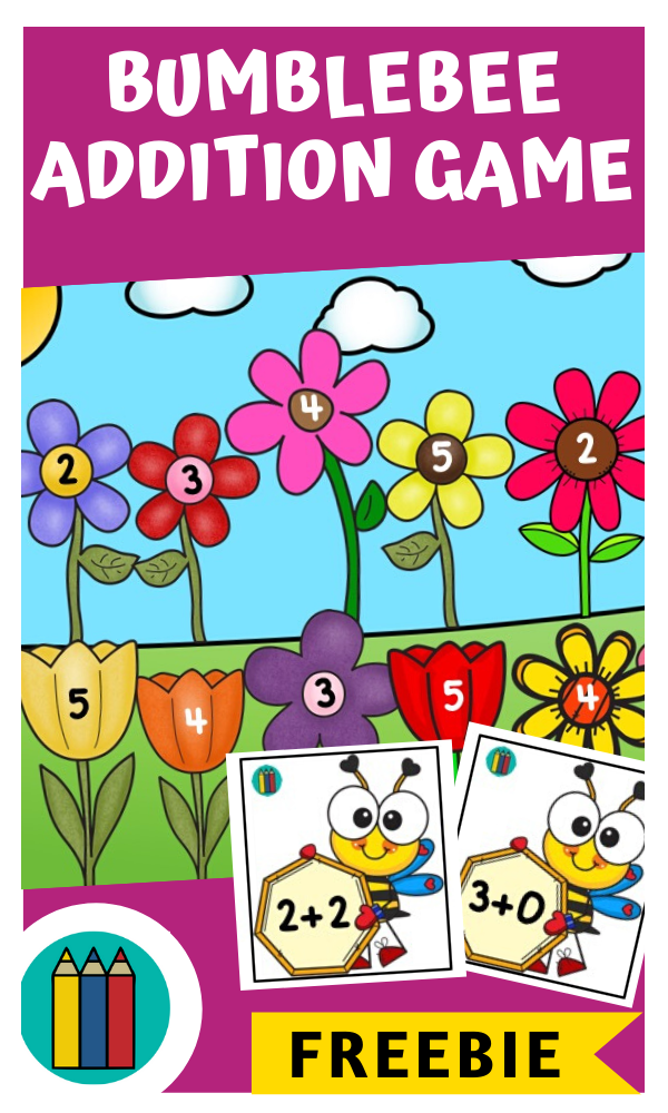 Fun Insect Printables for Preschool and Kindergarten | Bee Themed Number Games | Hands On Math Homeschool Activities | Kids Classroom Center Ideas and Worksheets #FreePrintableWorksheetsForKids #bugs #bee #math
