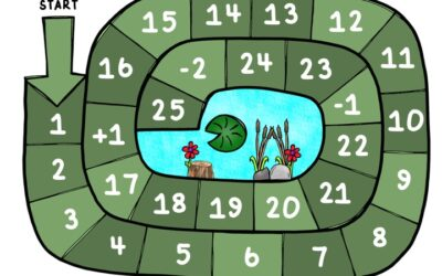 Frog Number Hop Game