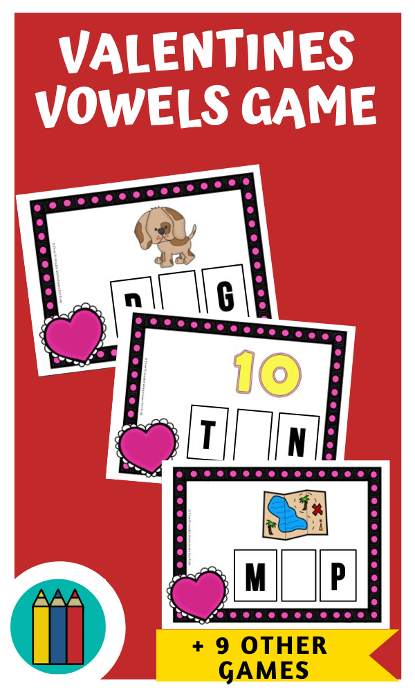 Fun Valentines Printables for Preschool and Kindergarten | 10 Literacy and Math Valentines Themed Games | Alphabet Numbers and Fine Motor Hands On Homeschool Activities | Kids Classroom Center Ideas #FreePrintableWorksheetsForKids #Valentines #Love #Heart