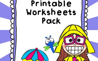 May Spring Printable Worksheets Pack