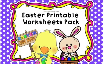 April Easter Printable Worksheets Pack