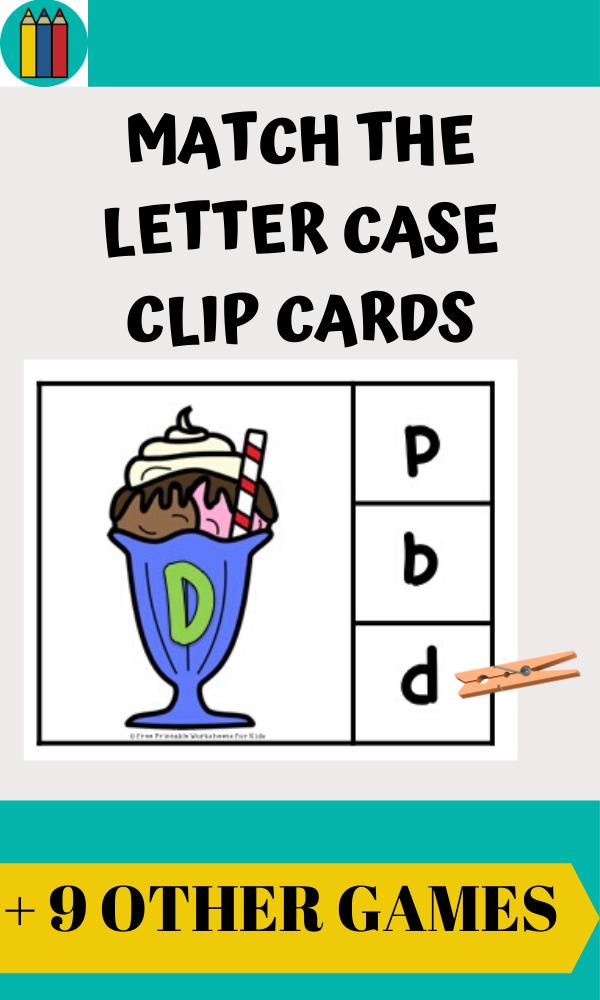 Fun Ice Cream Printables for Preschool and Kindergarten | Ice Cream Themed Literacy and Math Centers | Hands On Summer Homeschool Activities | Kids Classroom Center Ideas and Worksheets #FreePrintableWorksheetsForKids #Icecream #Alphabet #Number #Summer #Preschool
