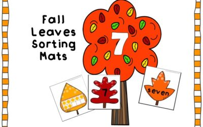 Fall Leaves Number Sorting