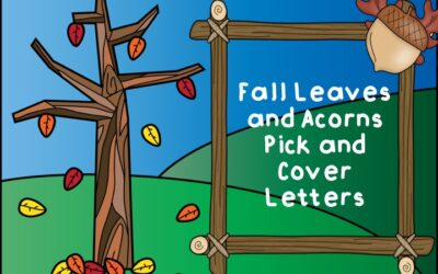 Fall Leaves Pick and Cover Letters