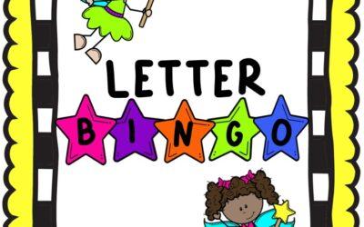 Fairy Alphabet Bingo
