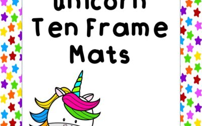 Unicorn Ten Frame Mats