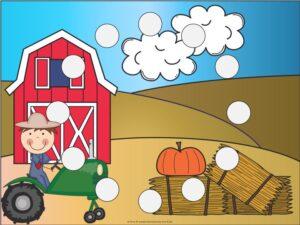 Farm Shapes Mats