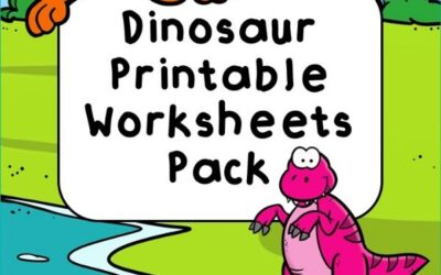 Dinosaur Printable Worksheets Pack