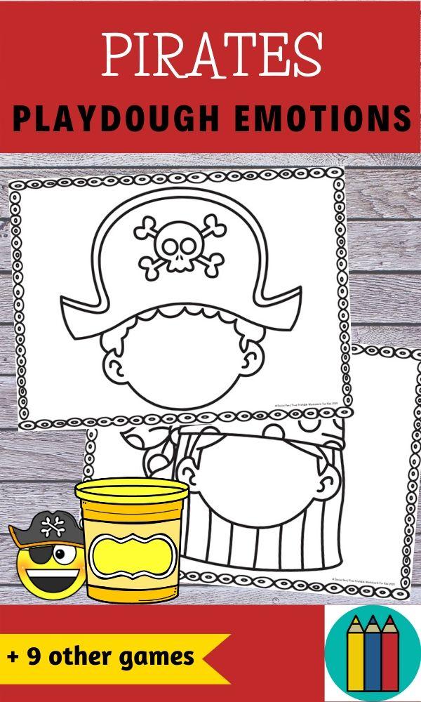 Fun Pirate Printables for Preschool and Kindergarten   Pirate Themed Games   Hands On Math Homeschool Activities   Kids Classroom Literacy Center Ideas and Worksheets #FreePrintableWorksheetsForKids #pirate #fantasy #dressup #skull #treasure #goldcoins