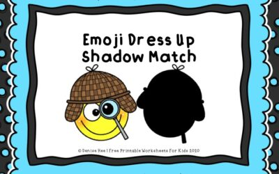 Emoji Dress Up Shadow Match