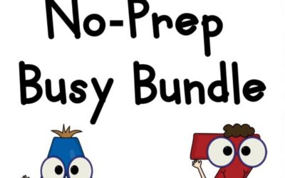Alphabet No-Prep Busy Bundle