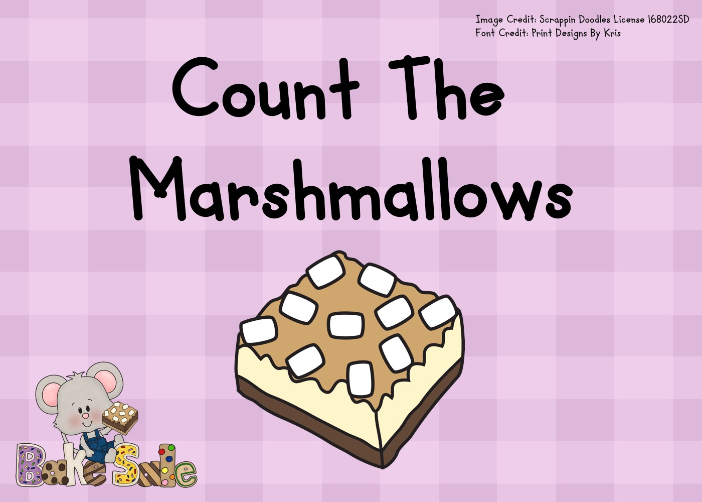 Count The Marshmallows 1-10