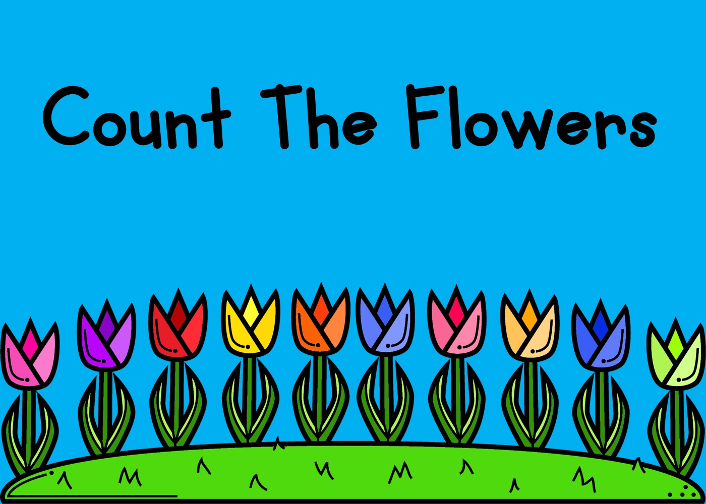 Count The Flowers 1-10