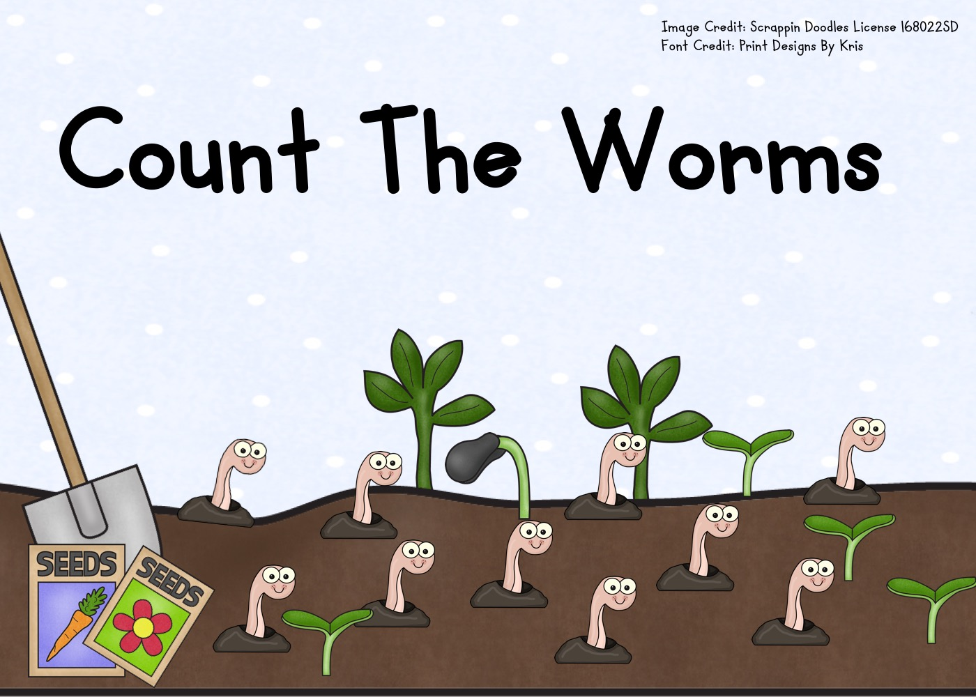 Fun Counting Printables for Preschool and Kindergarten | Spring Animal Themed Games | Hands On Math Homeschool Activities | Kids Classroom Center Ideas and Worksheets #FreePrintableWorksheetsForKids #worms #counting #clipcards #spring