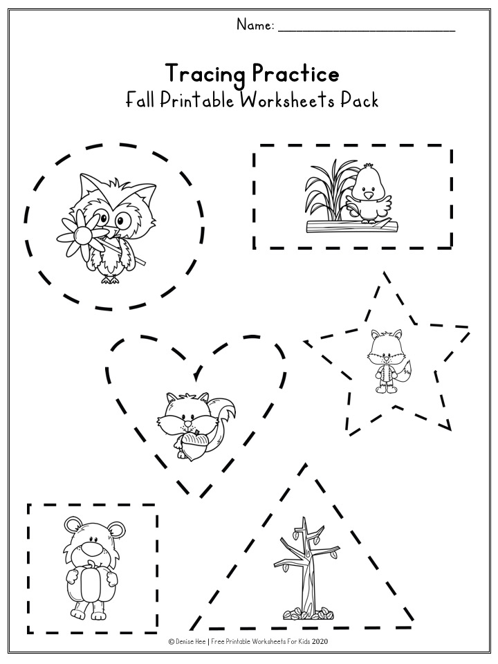 Fun Fall Printables for Preschool and Kindergarten | Autumn Themed Games | Hands On Math and Literacy Homeschool Activities | Kids Classroom Center Ideas and Worksheets #FreePrintableWorksheetsForKids #fall #autumn #worksheet