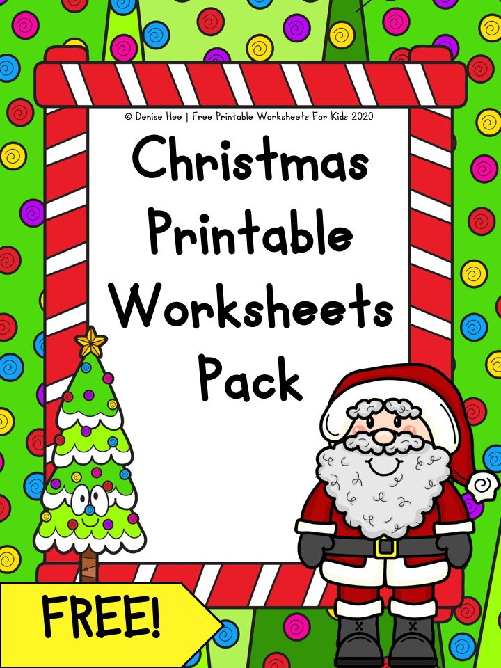 Christmas Printable Worksheet Pack