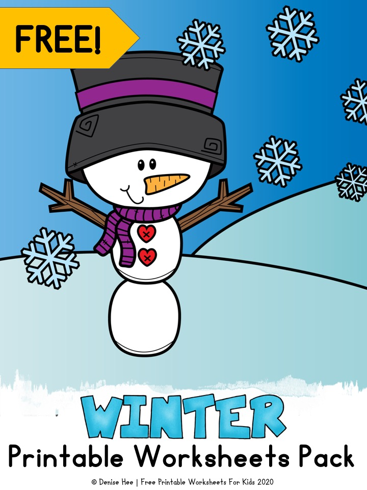 Winter Printable Worksheets Pack