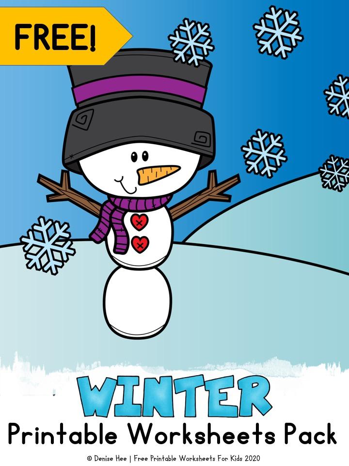 Winter Printable Worksheets Pack