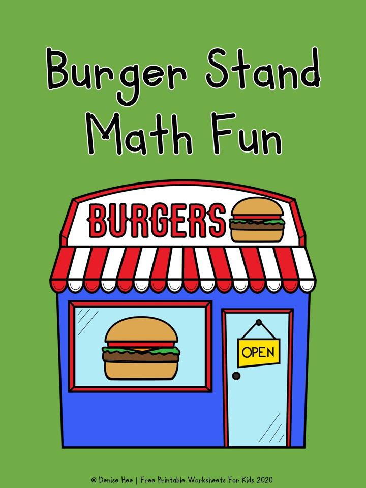 Burger Stand Math Fun