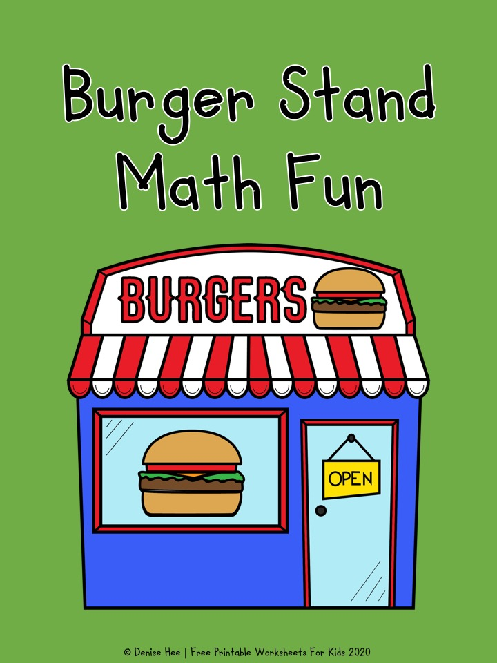 Burger Stand Math Fun
