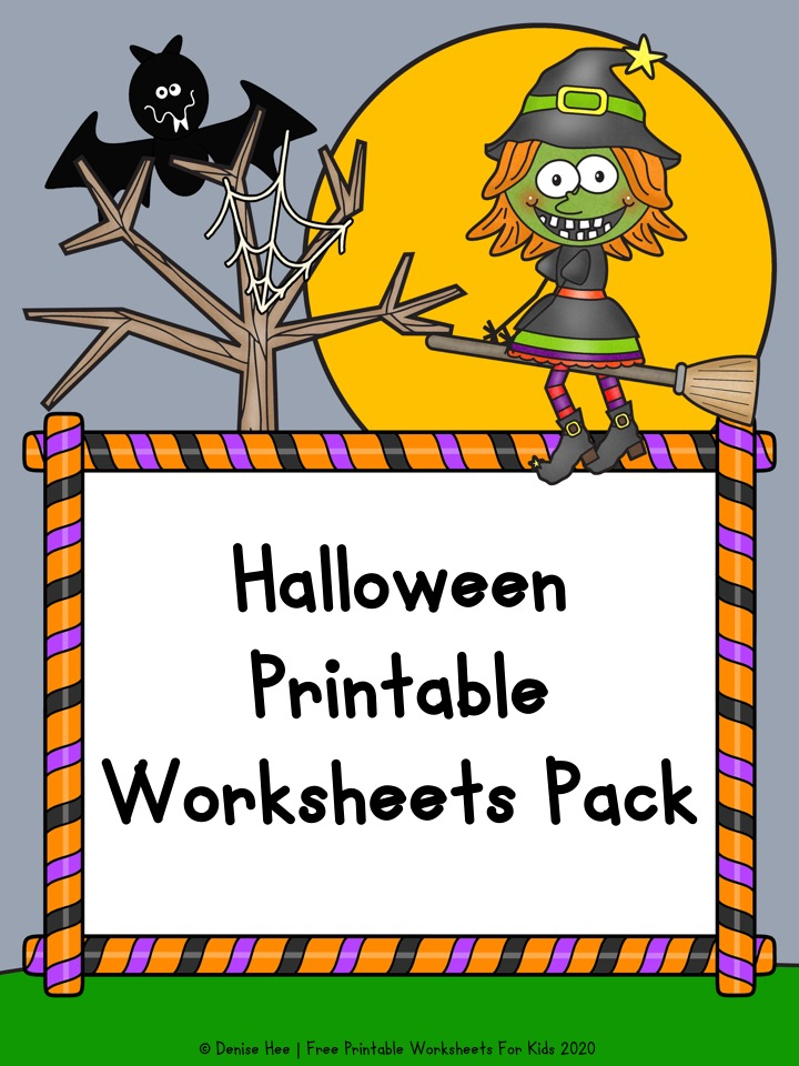 Halloween Printable Worksheets Pack
