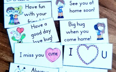 Back to School Printable Lunchbox Notes
