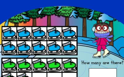 Counting to 20 with Ice Skates
