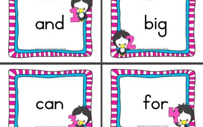 Penguin Sight Words Write The Room