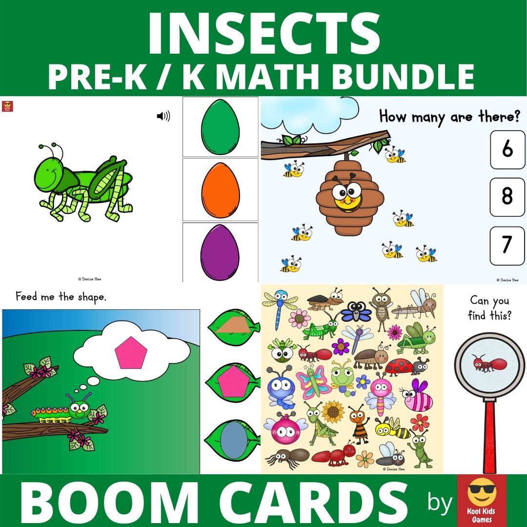 Counting 1 to 20 Ladybugs | Free Printable Worksheets For Kids | Preschoolers and kindergarteners will love counting the brightly colored ladybugs in this fun bug themed math center. Include this free printable in your insect learning unit to combine math and fine motor strengthening this Spring. Counting 1 to 20 will be so much fun!