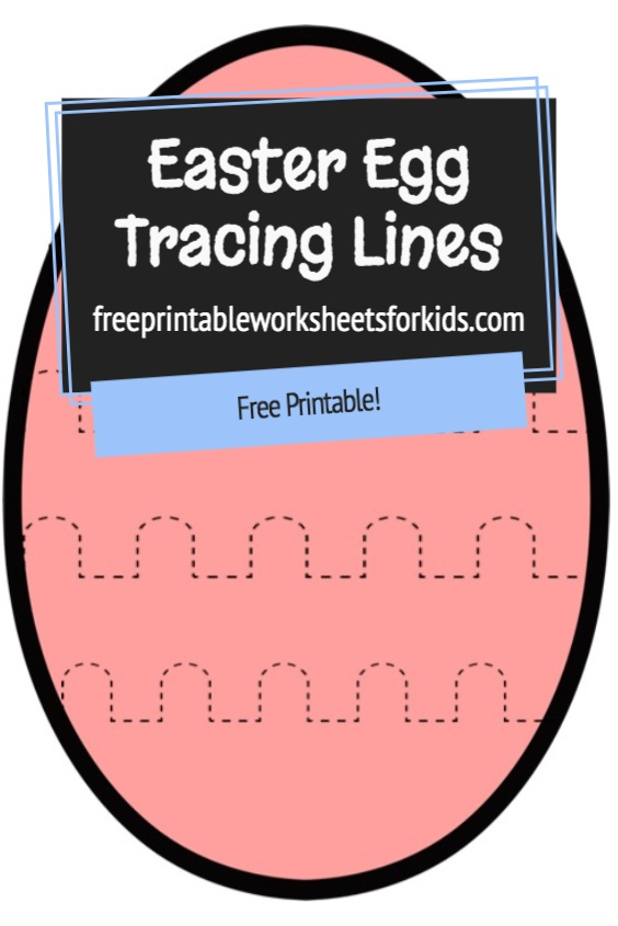 This simple preschool fine motor activity will help develop your students' fine motor muscle strength and allow them to practice correct pencil grip. Prewriting skills like tracing are crucial for building hand-eye coordination, confidence, concentration and focus. Download these free printable Easter Egg tracing worksheets as a quiet independent game for early finishers in your class this Spring!