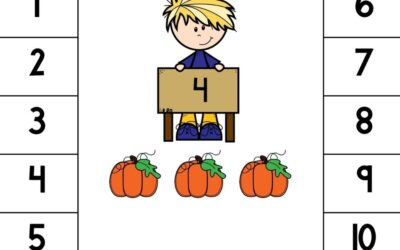 Teach Counting On to 20 with Pumpkins This Fall