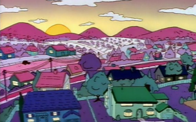 Scenic Simpsons: Surreal Art In Cartoon