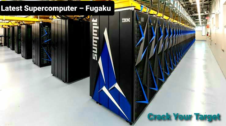 Latest supercomputer Fugaku