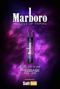 Marlboro Ice Grape Freebase