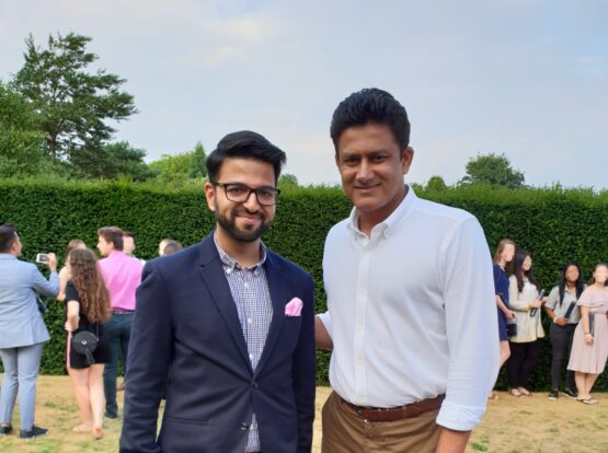 indian cricketer anil kumble teacher tutor athlete celebrity