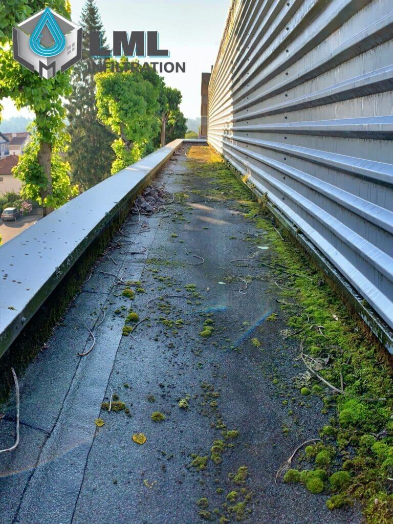 Entretien toiture terrasse autoprotégée