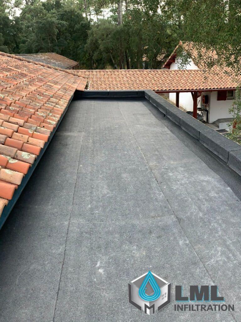 Étanchéité toiture terrasse autoprotégée