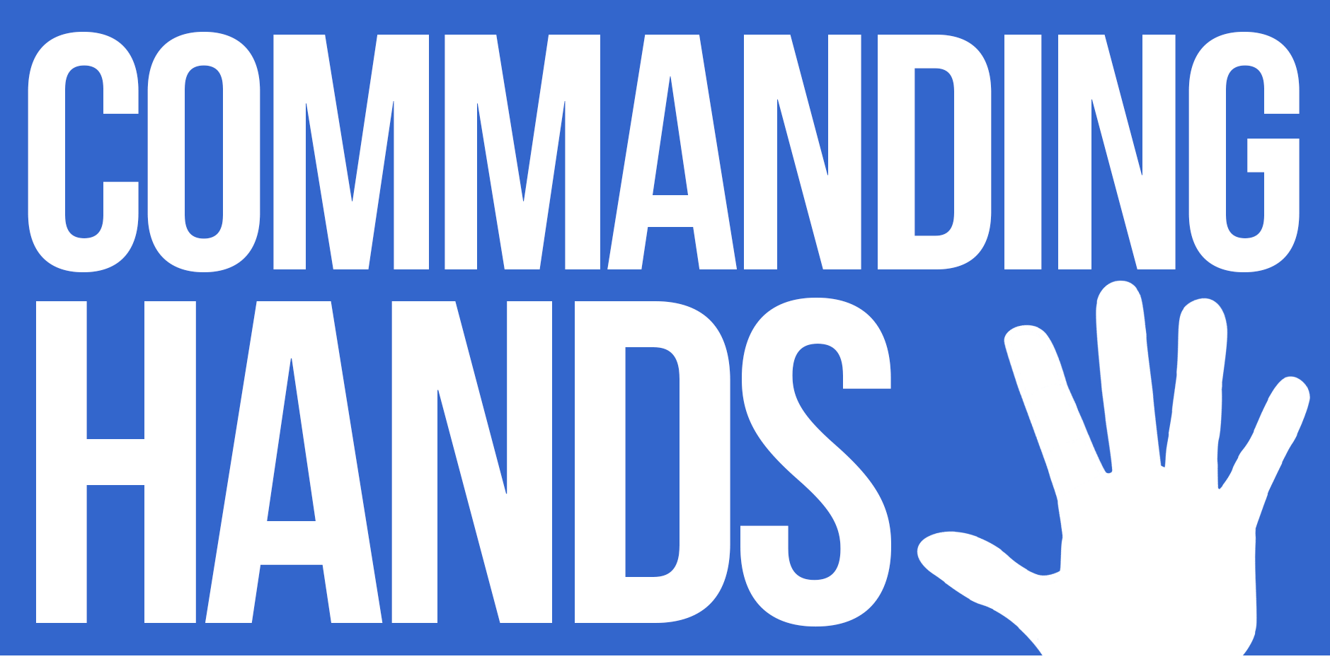 Commanding Hands Logo