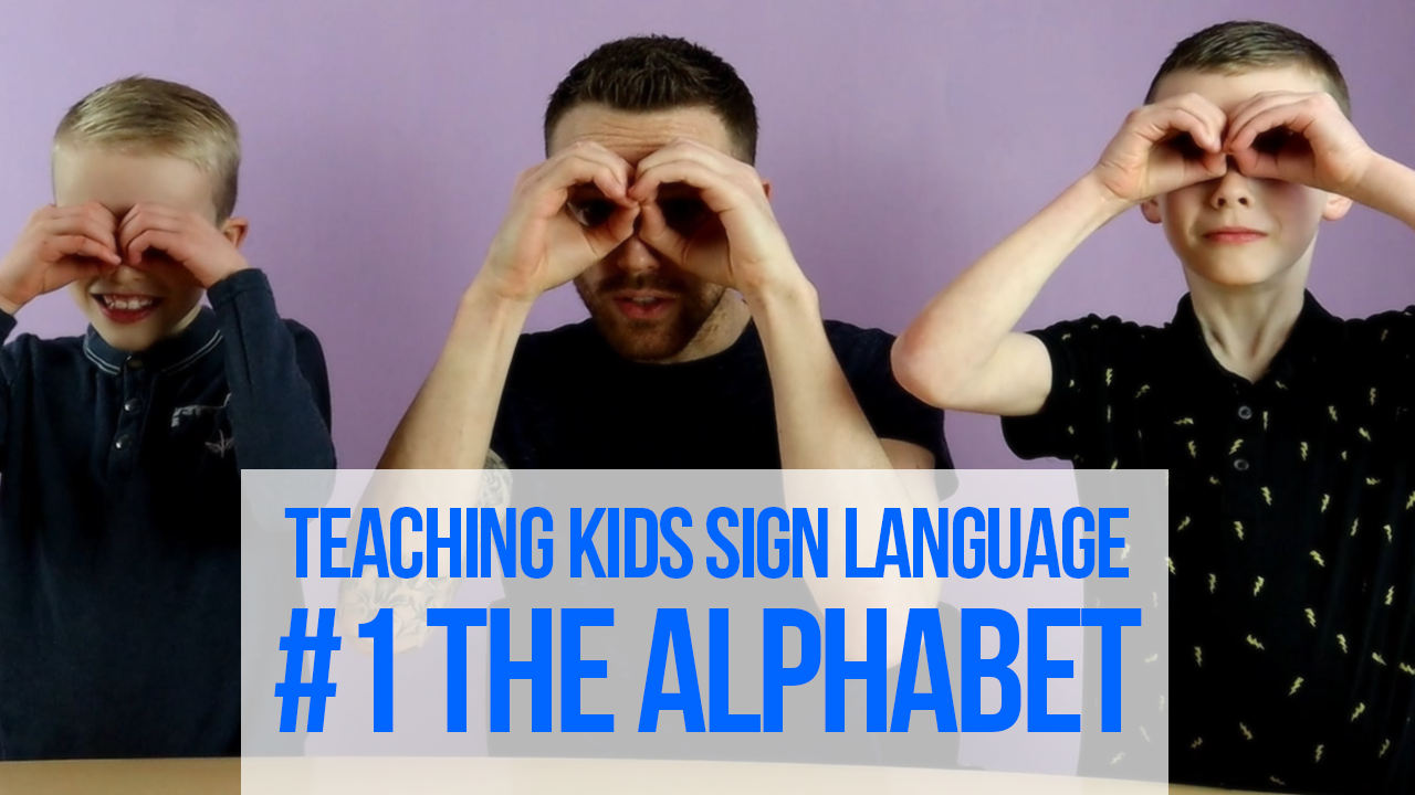New video series launches; Teaching Kids Sign Language