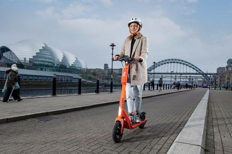 Newcastle Neuron e-scooters