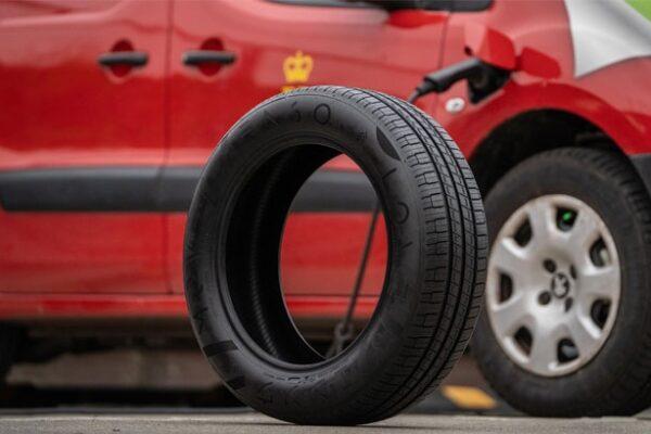 Royal Mail ENSO low emission tyre EV