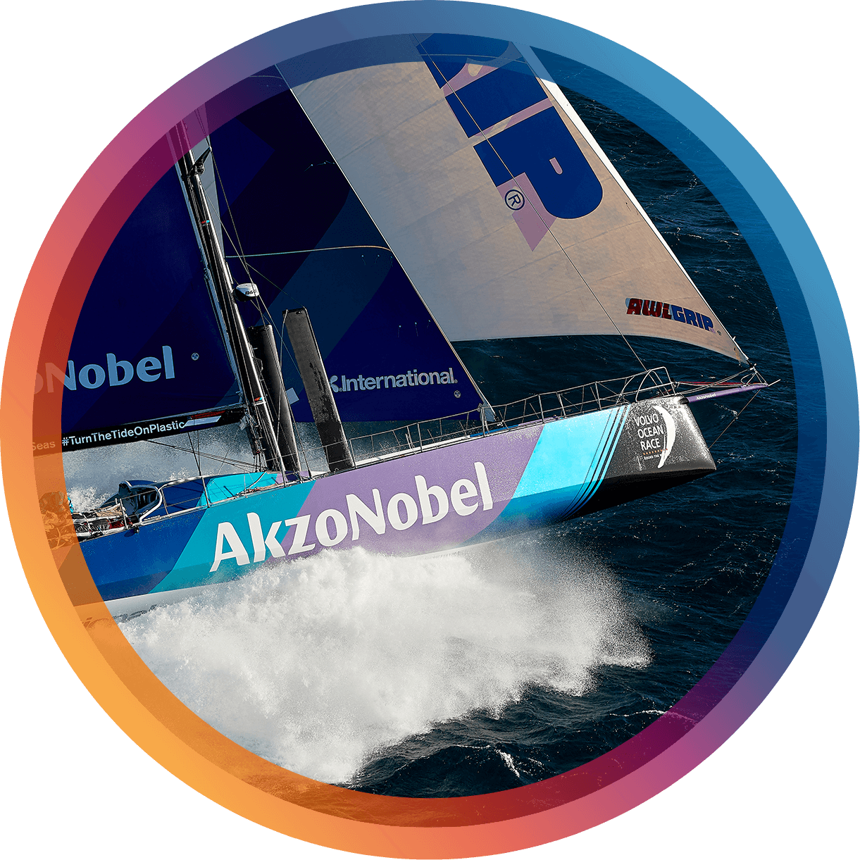 Sponsorship project example - Volvo Ocean Race