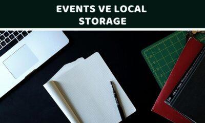 events ve local storage - öne çıkan görsel