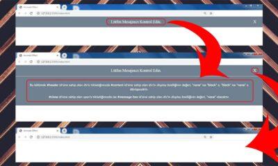 Jquery Message Box Uygulaması - Öne Çıkan Görsel