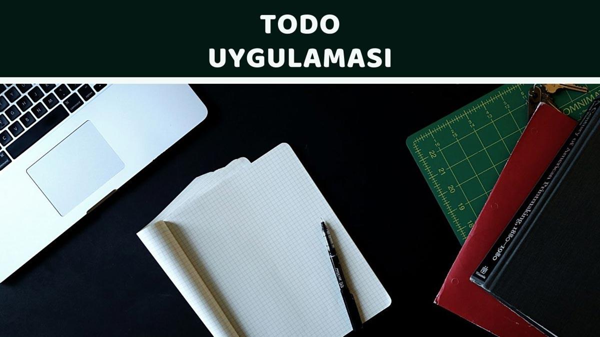 featured To Do Uygulaması - Öne Çıkan Görsel