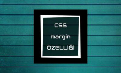 css margin özelliği