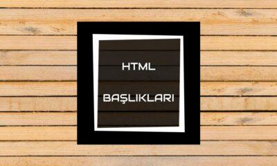 HTML Başlıkları öne çıkan görsel