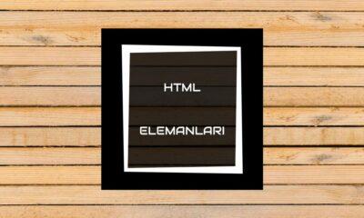 HTML elemanları