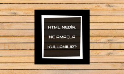 html'ye giriş