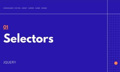 Jquery'de Selectors Kullanımı - Öne Çıkan Görsel